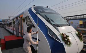 All aboard the Vande Bharat Express