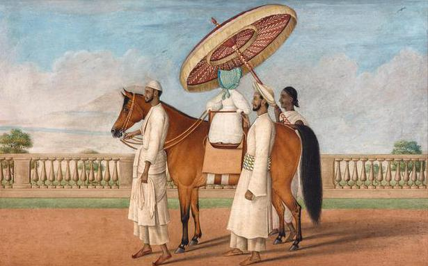 The Indian artists who painted the Empire