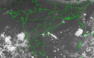 Thunderstorms tear apart skies as the countdown to N-E monsoon on