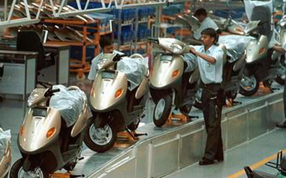 Image result for tvs scooty production unit