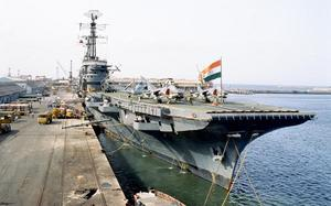 India's first indigenous aircraft carrier begins second phase of sea trials