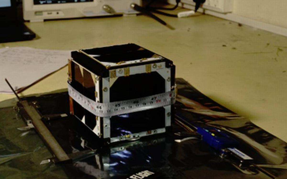 Micro satellite ExseedSAT1 to fly on SpaceX - The Hindu