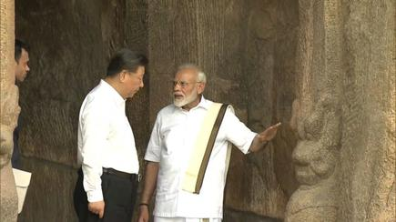 Image result for modi and xi jinping