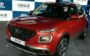 Hyundai drives in SUV Venue priced at Rs 6.5 l starting