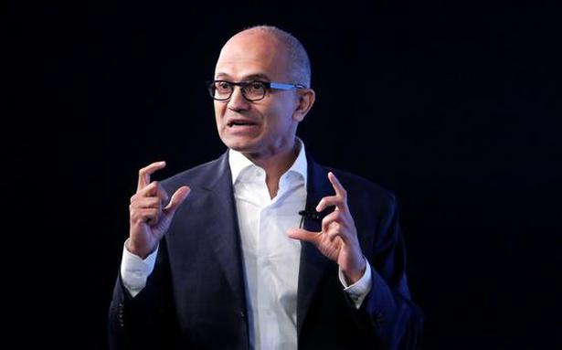 Privacy, security and ethics should be built into tech products, services: Satya Nadella