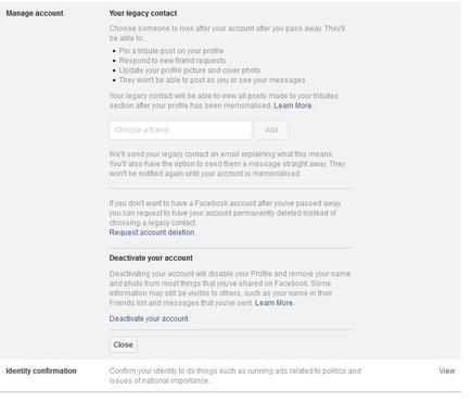 How to suspend your facebook account temporarily