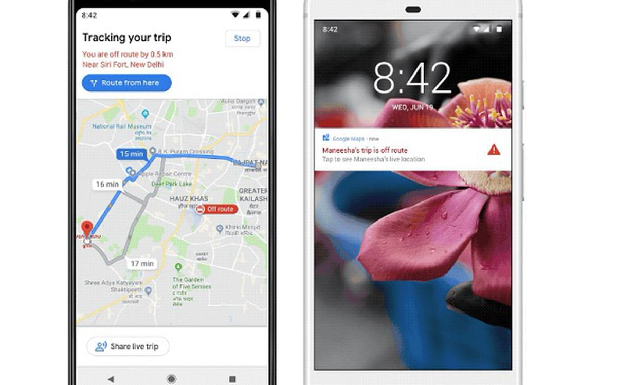 Google Maps rolls out 'off-route' safety alert feature in India