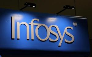 Infosys rises 4 per cent as deal wins power higher revenue outlook