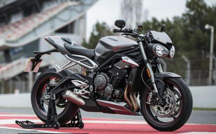 Triumph Motorcycles New Street Triple Rs India Launch Performance