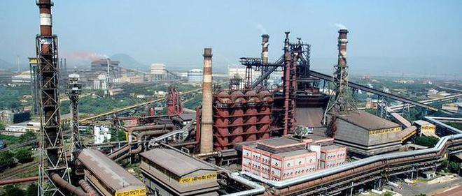 A View Of Visakhapatnam Steel Plant Iron Ore To The Plant Is Sourced From The Bailadila Mines Of Nmdc Through The K K Line