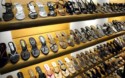7f39da6e885 Treading softly  Pavers England footwear displayed at a showroom in Chennai  (file photo).