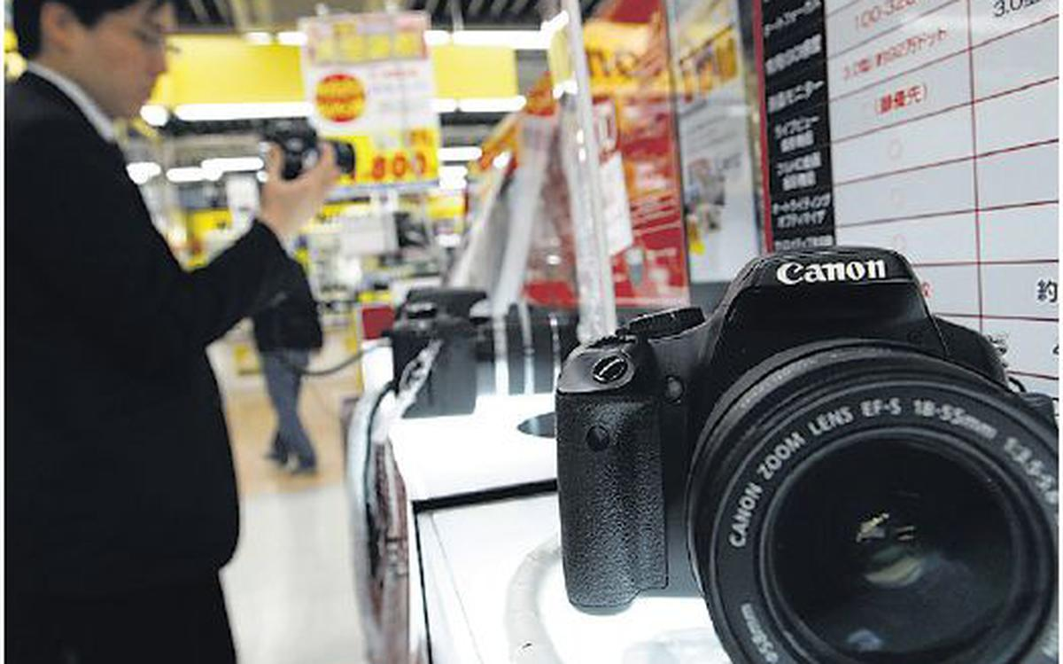 Canon India eyes movie camera launch this year - The Hindu