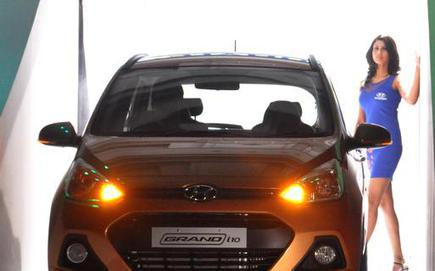 Hyundai Launches Grand I10 At Rs 4 29 Lakh The Hindu Businessline