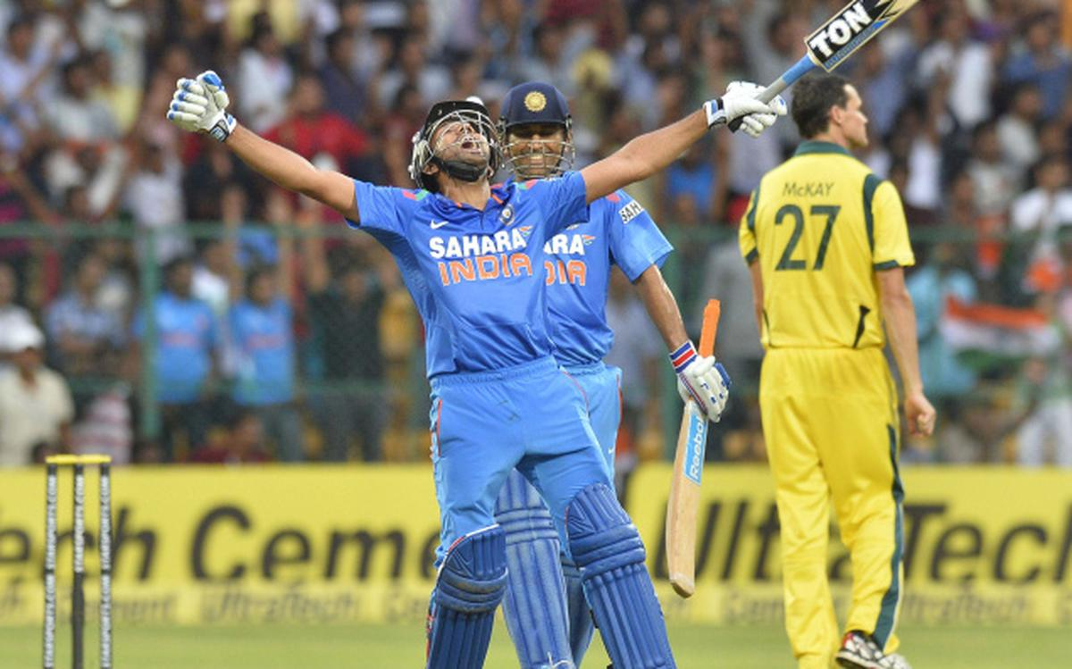 Brilliant Rohit cracks 209 as India put a massive 383/6 on board - The Hindu BusinessLine