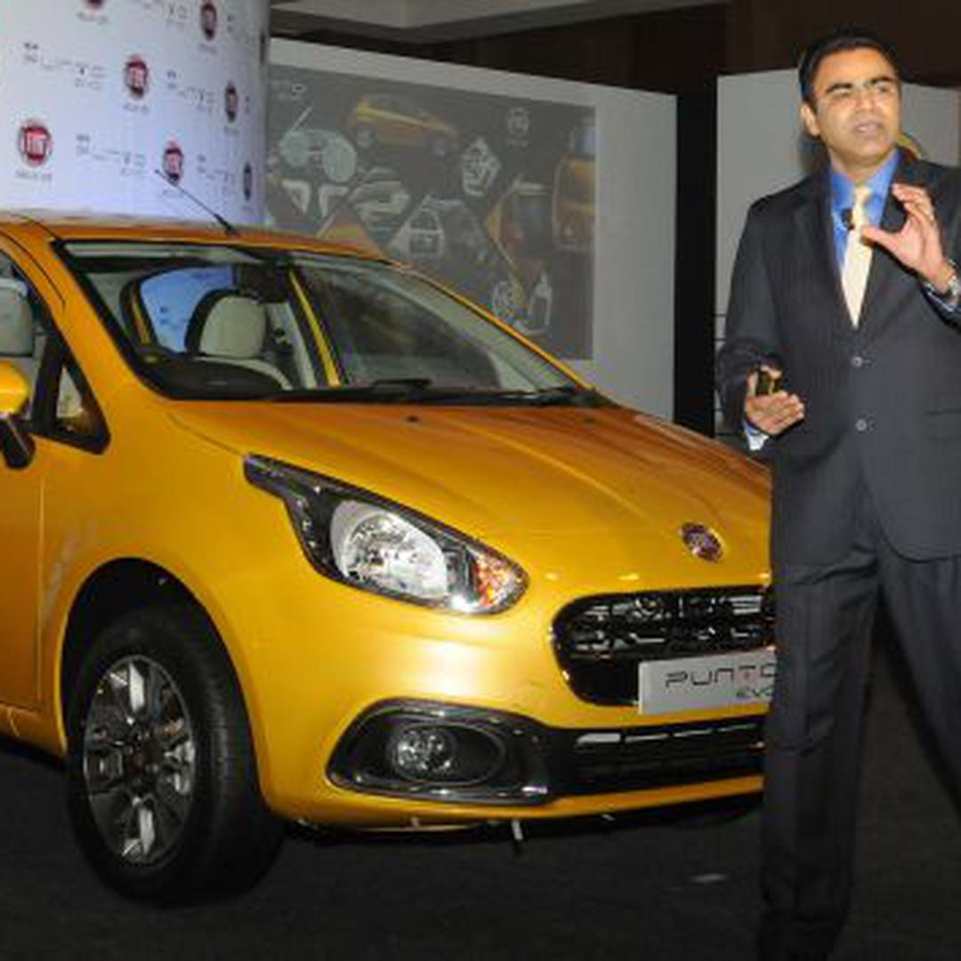 Fiat Launches Compact Car Punto Evo At Rs 455 Lakh The Hindu 2014 Businessline