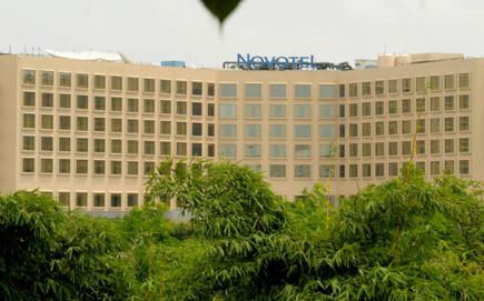 A View Of Novotel Hyderabad Airport Hotel Near