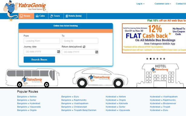 YatraGenie to invest Rs 50 cr for expansion across Karnataka - The