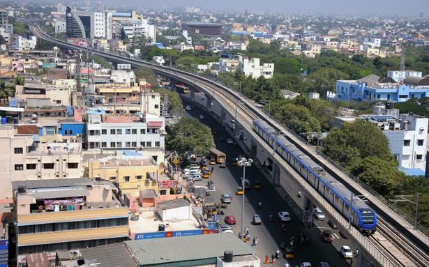 In Chennai Hope Hovers On Elevated Tracks The Hindu Businessline