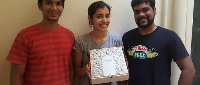 Now everyone can cook a gourmet meal business line ordook founders anush rajasekaran harshita ravi and abhishek chandrasekaran a do it yourself ordook gourmet meal kit solutioingenieria Gallery