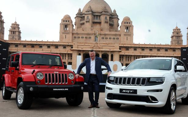 Fiat chrysler drives jeep brand into india prices wrangler at rs 72 fiat chrysler drives jeep brand into india prices wrangler at rs 72 lakh the hindu businessline fandeluxe Choice Image