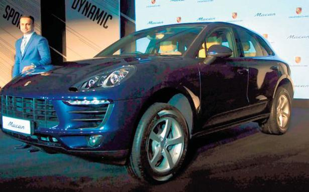 porsche macan in india - Business Line on