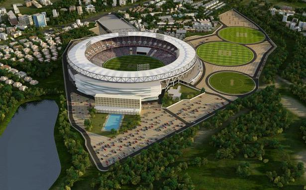 The world's largest cricket stadium in Ahmedabad to cost Rs
