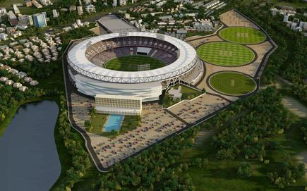 the world s largest cricket stadium in ahmedabad to cost rs 700 cr