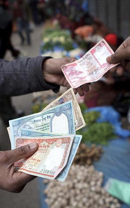 nepal to keep currency pegged at to indian rupee the hindu