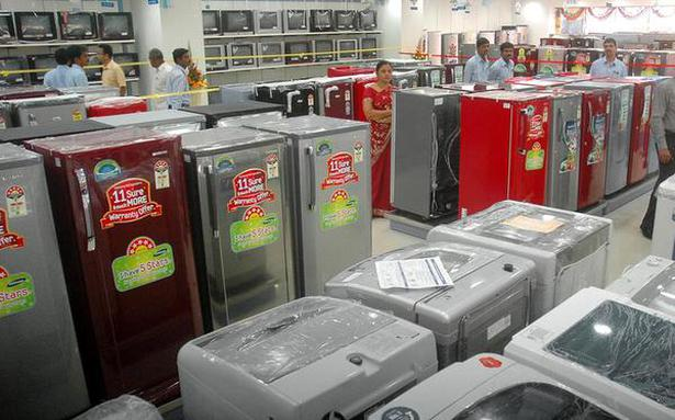 Consumer durables, home appliance makers want govt to lower taxes - The Hindu BusinessLine