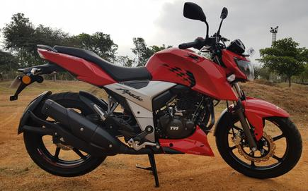 New Apache Rtr 160 4v First Ride Review The Hindu Businessline