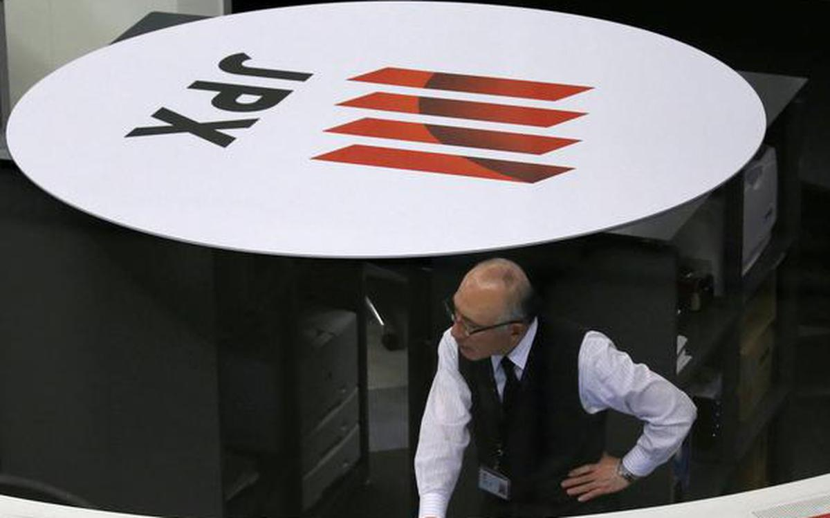 Nikkei edges higher as chip-related stocks rise - The Hindu
