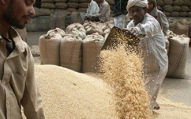 Centre buys 33.8 mt of wheat, pays farmers ₹49,965 crore online
