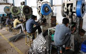 Industrial output growth drops to 4.3% in July