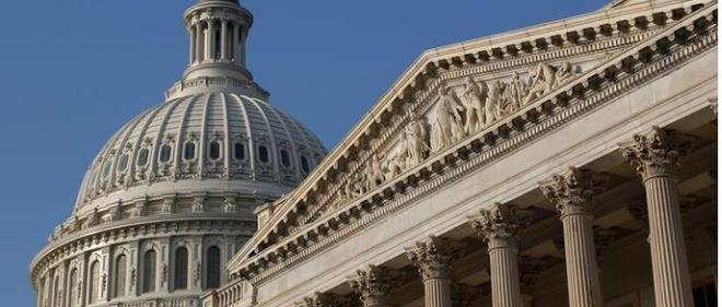 Us senate passes budget blueprint for 2018 fiscal year business line a general view of the us capitol dome in washington united states photo reuters malvernweather Choice Image