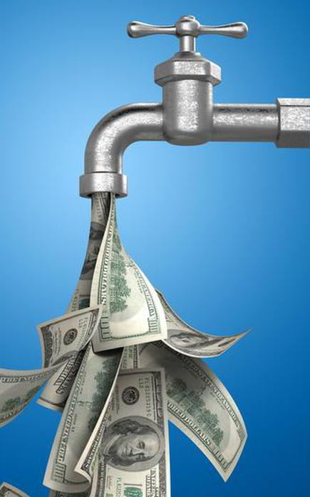 Image result for images pouring money