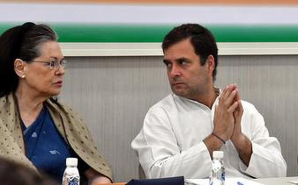 Congress Working Committee meets to review Lok Sabha poll debacle