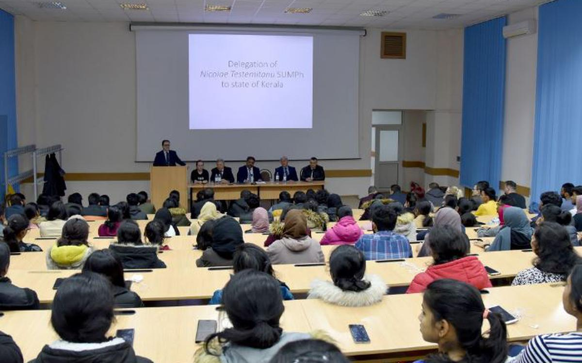 Moldovan medical university opens its arms to more Indian students