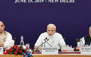 PM Narendra Modi calls for integrated efforts towards water conservation