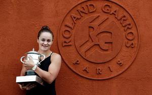 Top-ranked Ashleigh Barty named WTA Player of the Year