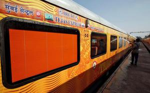 From Mumbai to Ahmedabad, on the Tejas Express