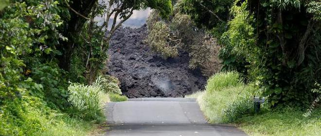Hawaii street swallowed by lava tide as many more homes burn a malvernweather Image collections