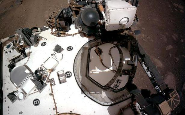 Watch   NASA Mars rover sends back grinding, squealing sounds of driving - The Hindu BusinessLine