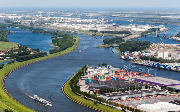 Rotterdam Port Steams towards a Greener Future