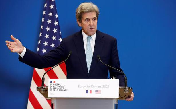 Kerry's visit to Delhi to focus on raising climate ambition