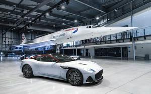 Aston Martin's tribute to the world's fastest passenger airliner