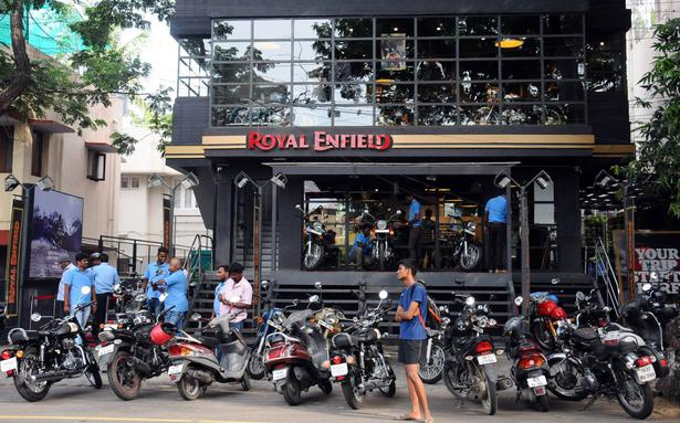 Royal Enfield July sales fall 26 per cent to 40,334 units