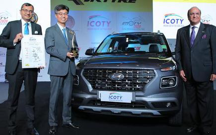 Hyundai Venue Is The Indian Car Of The Year 2020 The Hindu